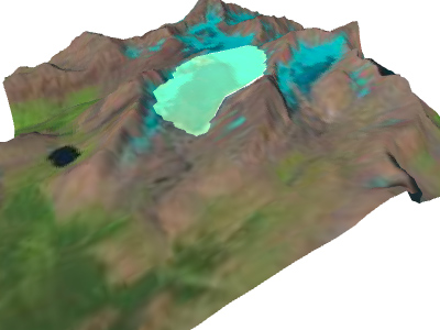 Preview of Haig Glacier simulation