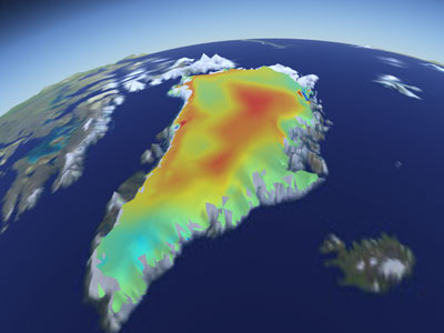 Preview of Greenland Geothermal Sensitivity simulation